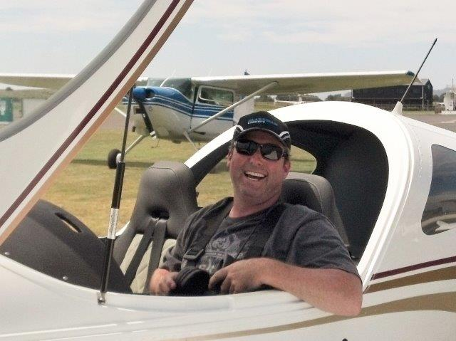 Pilot Dallas First Solo