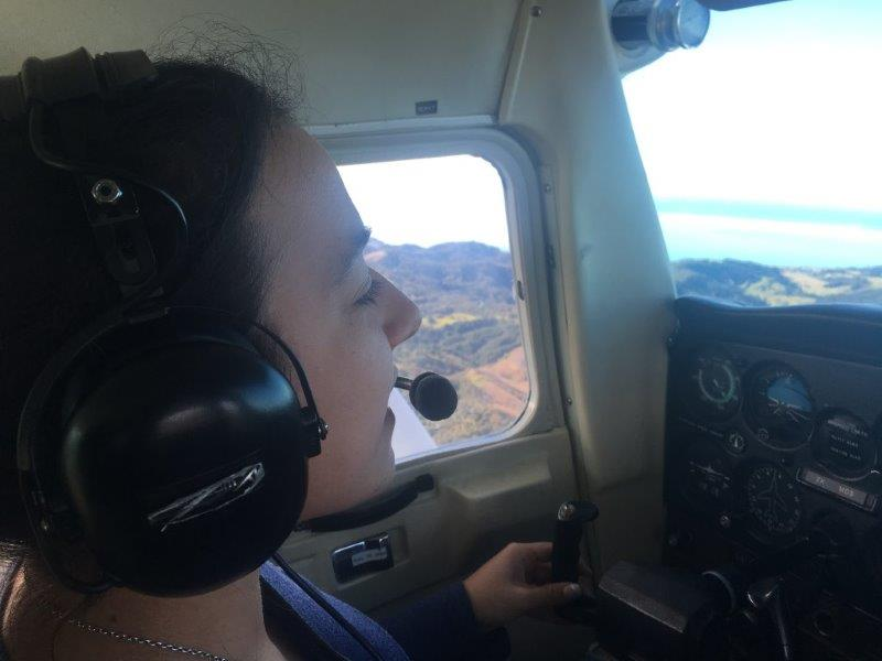 Pilot Vanessa Flying